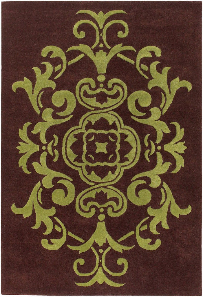 Venetian 6003 5'x7'6 Brown Rug Rugs Chandra Rugs