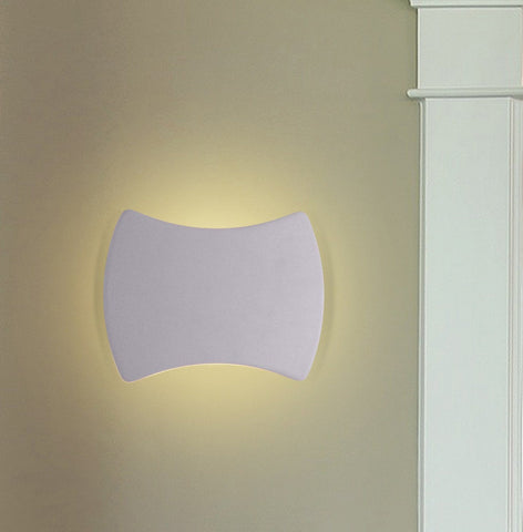 "Atlas 9""w LED Wall Sconce - Silver"