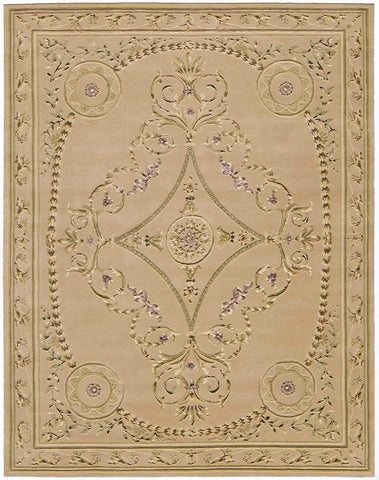 Versailles Palace Beige Rug - 5 Size and Shape Options