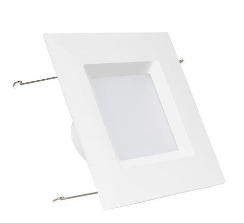 "6"" Premium Square LED Downlight - Choose Warm or Daylight"