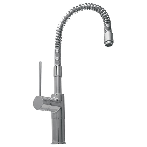 Metrohaus Commercial Single Lever Kitchen Faucet with Flexible Spout