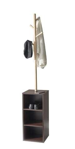 Hutch Storage Coat Rack