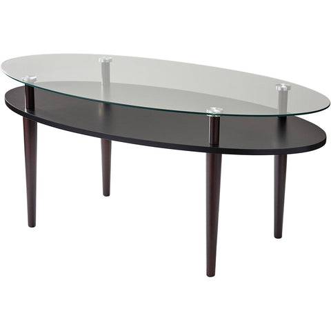 "Dwight 40""w Oval Coffee Table"