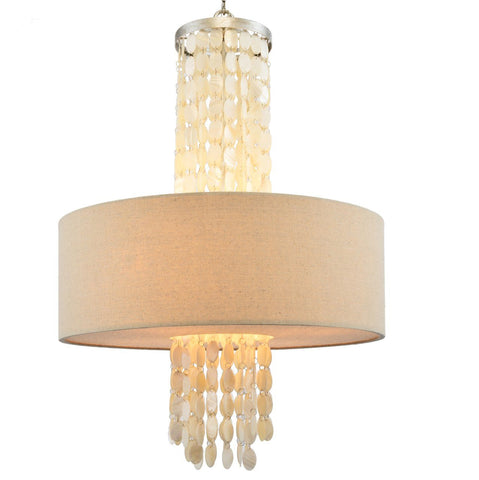 Haloke Chandelier with Shining shell
