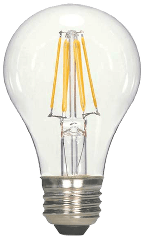 LED Filament A19 Bulb 10W 27K (Dimmable)
