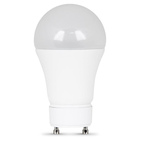 Feit Electric A19 60 Watt Equiv., Dimmable Performance LED, GU24 Base, 800 Lumen, 3000K