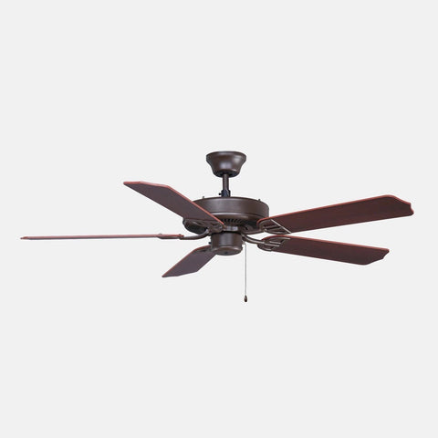 "Aire Decor 52"" Damp Rated Ceiling Fan - Bronze"