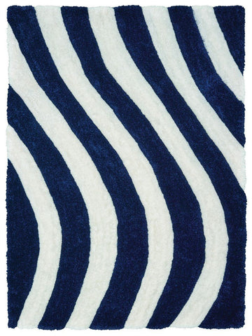"Finesse Collection Rug - Streamer Navy (3 Sizes) Rugs United Weavers Mat 1'10"" x 2'7"""