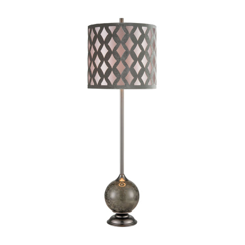Dalio Table Lamp in Pewter Lamps ELK Home