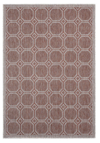 "Augusta Collection Collection Rug - Terracotta (2 Sizes) Rugs United Weavers Area 5'3"" x 7'6"""