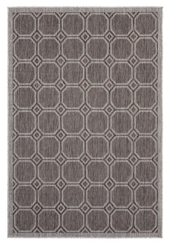 "Augusta Collection Collection Rug - Brown (2 Sizes) Rugs United Weavers Area 5'3"" x 7'6"""