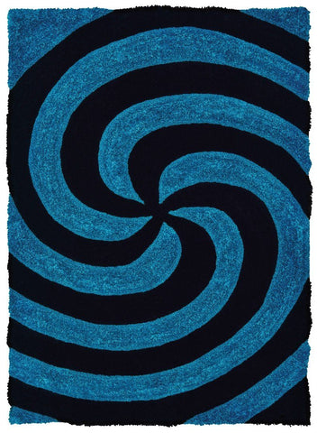 "Finesse Collection Rug - Pinnacle Blue (3 Sizes) Rugs United Weavers Mat 1'10"" x 2'7"""