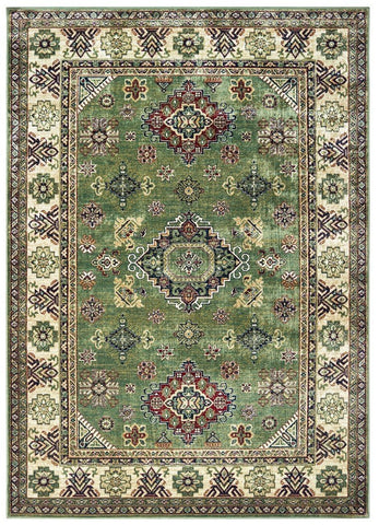 "Royalton Collection Rug - Green Runner 2'4"" x 9'4"""