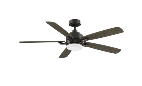 Benito v2 - 52 inch Ceiling Fan - Matte Greige with LED Light Kit Fans Fanimation Matte Greige