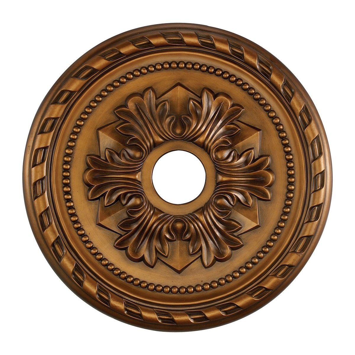Corinthian 22-Inch Medallion In Antique Bronze Medallion Elk Lighting