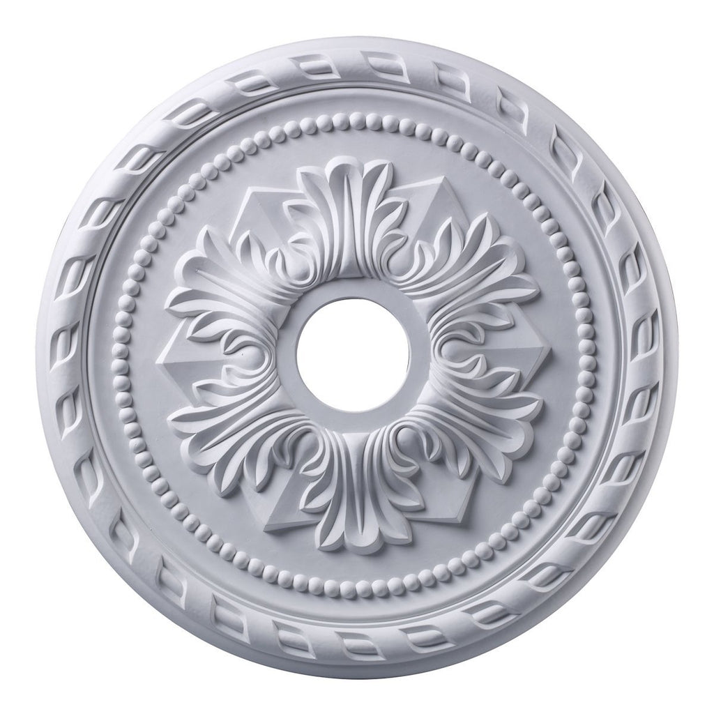 Corinthian 22-Inch Medallion In White Medallion Elk Lighting