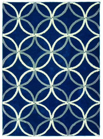 "Pure Collection Collection Rug - Denimblue (3 Sizes) Rugs United Weavers Mat 1'10"" x 3'"