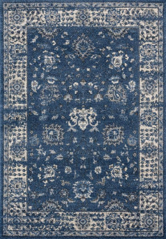Serenity Collection Rug - Midnight Blue (5 Sizes)