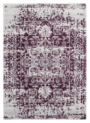 Abigail Collection Rug - Wine (7 Sizes)
