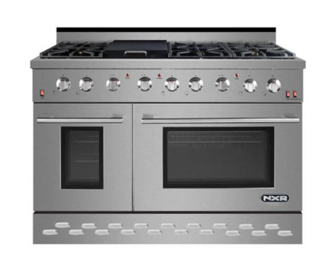 "NXR 48"" Pro Style Gas Range SC4811 Appliances Dazzling Spaces"