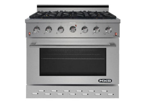 "NXR 36"" professional style gas range SC3611 Appliances Dazzling Spaces"