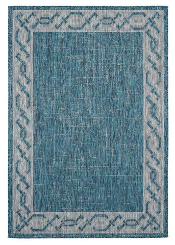 "Augusta Collection Collection Rug - Aqua (2 Sizes) Rugs United Weavers Area 5'3"" x 7'6"""