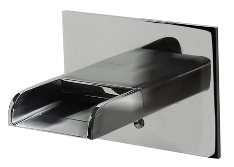 Polished Chrome Waterfall Tub Filler Faucets Alfi