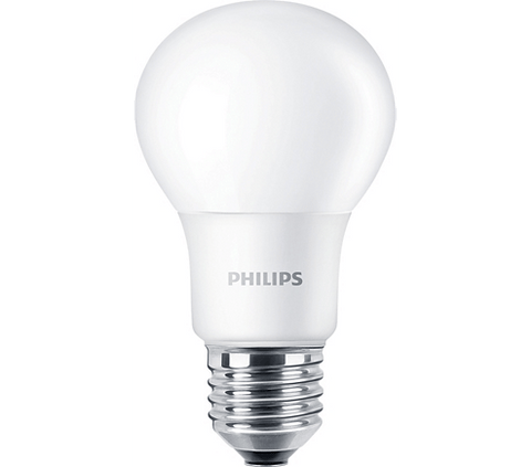 Philips 8.5W A19 850 Non-Dimmable (4-Pack) Bulbs Philips