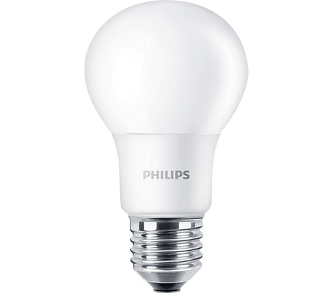 Philips 8.5W A19 827 Non-Dimmable (4-Pack) Bulbs Philips