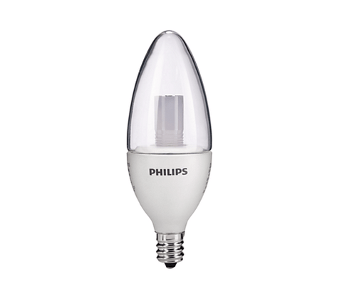 Philips 3.5W E12 Clear 827-22 Dimmable