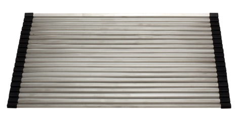 "18"" x 13"" Modern Stainless Steel Drain Mat for Kitchen"