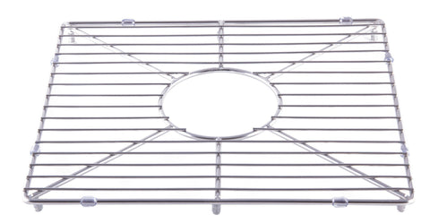 Stainless steel kitchen sink grid for large side of AB3618DB, AB3618ARCH Accessories Alfi