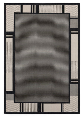 "Augusta Collection Collection Rug - Black (2 Sizes) Rugs United Weavers Area 5'3"" x 7'6"""
