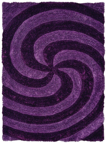"Finesse Collection Rug - Pinnacle Violet (3 Sizes) Rugs United Weavers Mat 1'10"" x 2'7"""