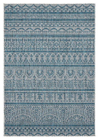 Augusta Collection Collection Rug - Aqua (2 Sizes)
