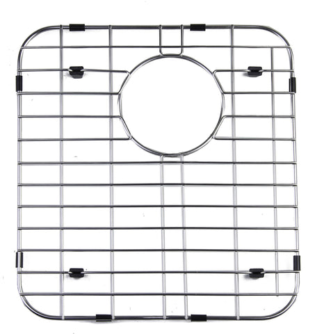 Left Side Solid Stainless Steel Kitchen Sink Grid