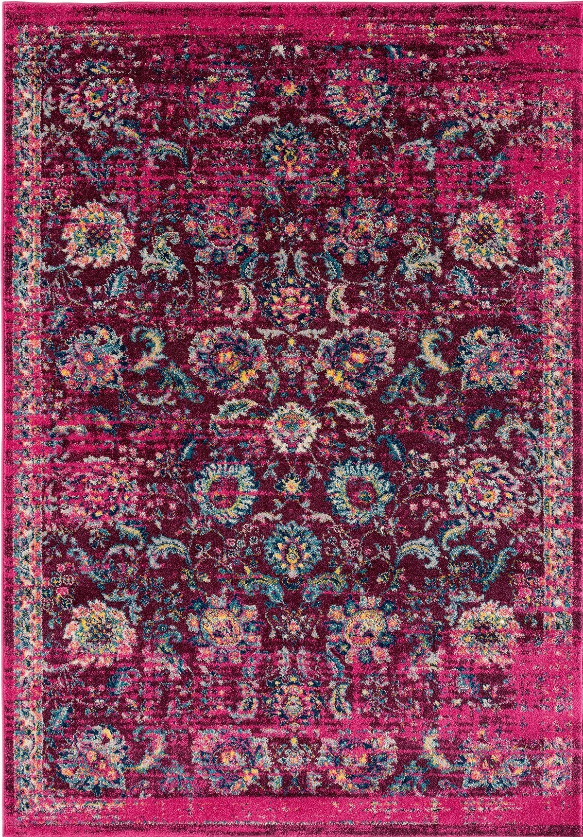 Abigail Collection Rug - Magenta (7 Sizes) Rugs United Weavers Grande 10' x 12'2""