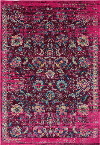 Abigail Collection Rug - Magenta (7 Sizes)
