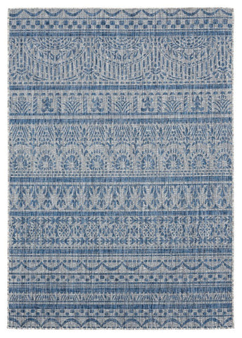 "Augusta Collection Collection Rug - Blue (2 Sizes) Rugs United Weavers Area 5'3"" x 7'6"""