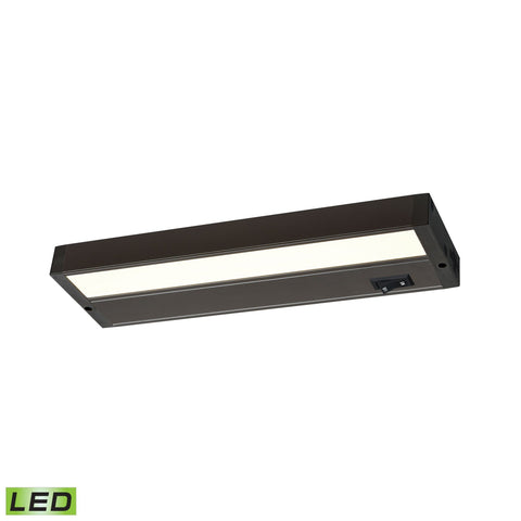 Aurora Collection Bronze LED Under Cabinet Lights (Choose length)