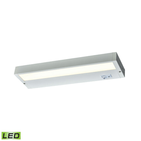 "Aurora Collection White LED Under Cabinet Lights (Choose Length) Wall Thomas Lighting 12"" (480 Lumens)"