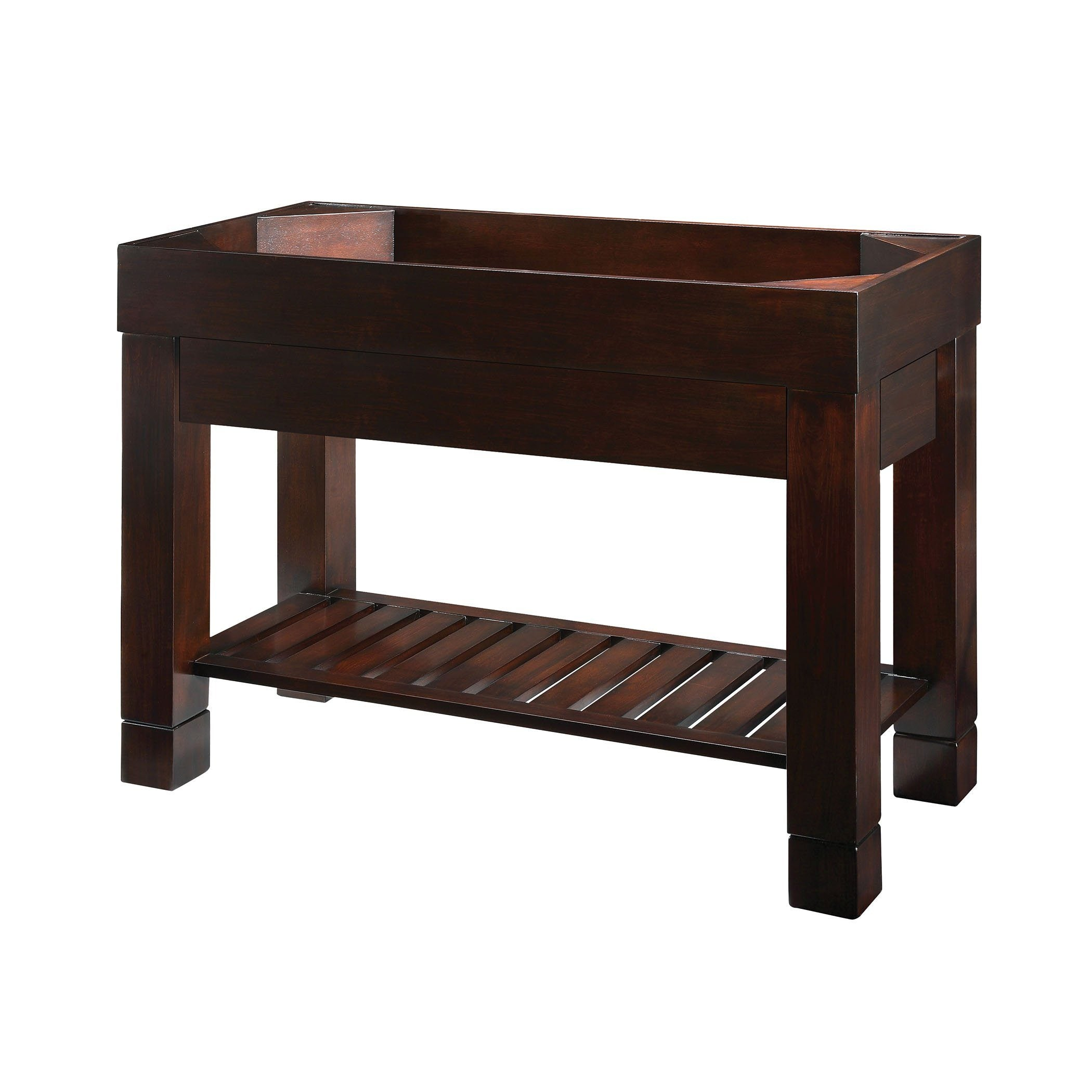 Indus 2 Vanity 48-inch - Dark Walnut Furniture Ryvyr