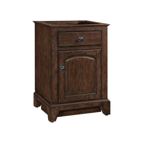 James 24-inch Vanity - English Chestnut