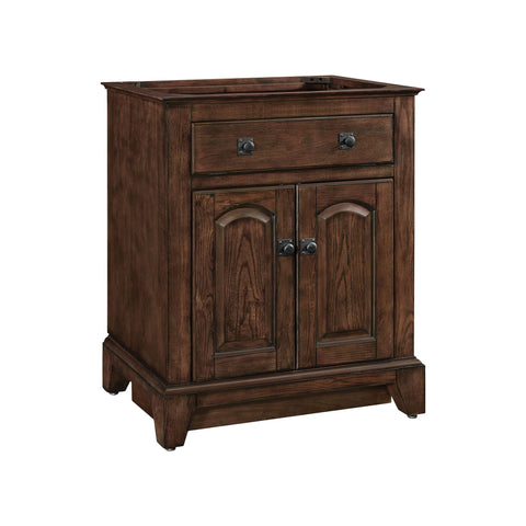 James 30-inch Vanity - English Chestnut