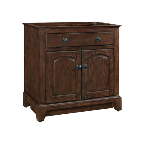 James 36-inch Vanity - English Chestnut