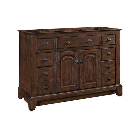 James 48-inch Vanity - English Chestnut
