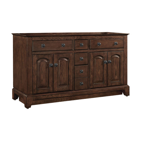 James 60-inch Vanity - English Chestnut