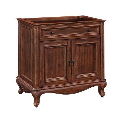 Malago 36-inch Vanity - Distressed Maple Furniture Ryvyr