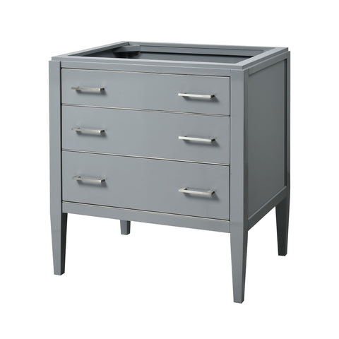 Manhattan 30-inch Vanity - Grey