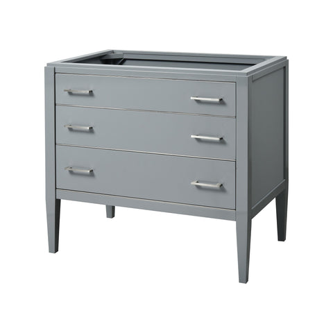 Manhattan 36-inch Vanity - Grey